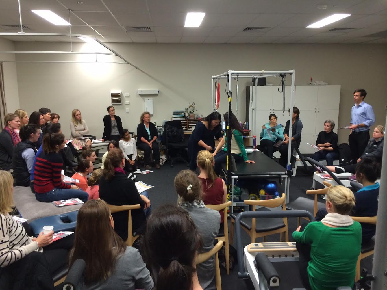 Australian Hand Therapy Association NSW Interest Group meeting at MGS Physiotherapy
