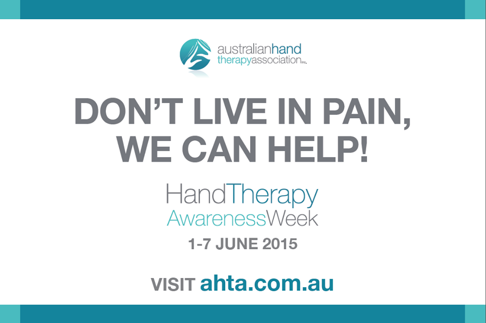 Hand Therapy Awareness Week 2015