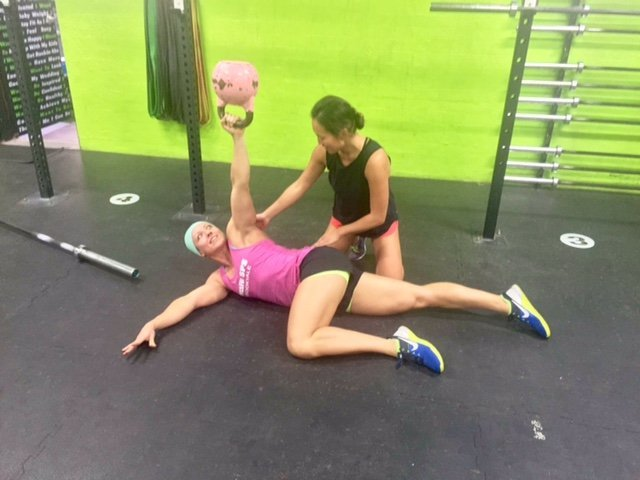 Cross Fit & Chrissie Eves