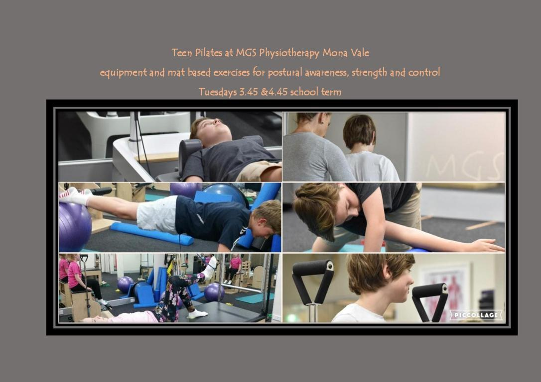 Teen Pilates Classes with Cathy Molloy